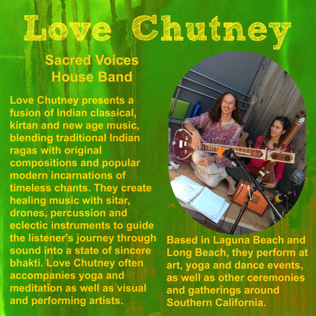 Love Chutney flyer