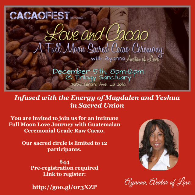 Love and Cacao 12.5.14