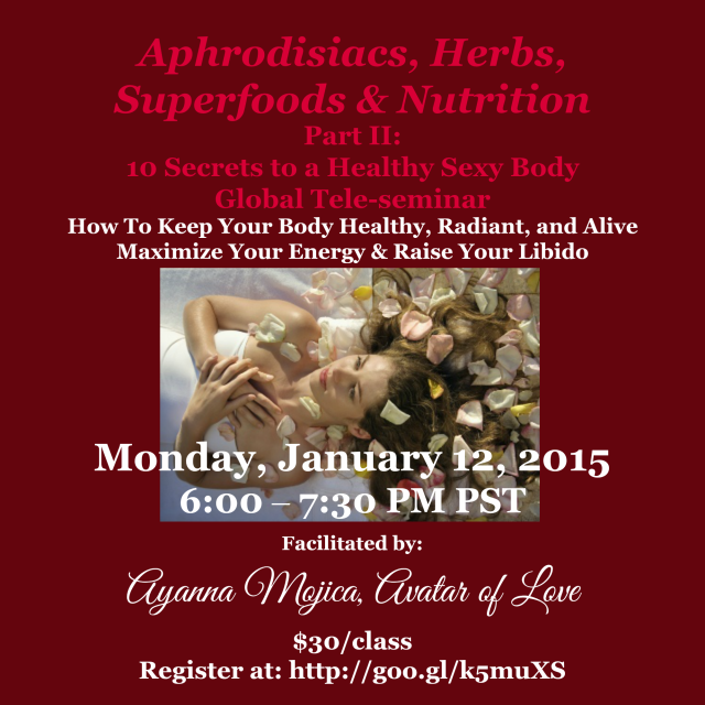 10 Secrets Part 2  Aphrodisiacs