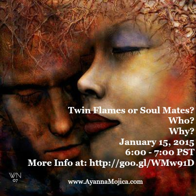 Twin Flames or Soul Mates