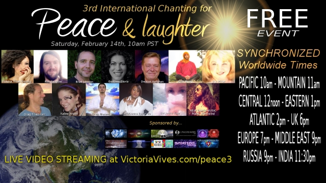 Chanting for Peace & Laughter