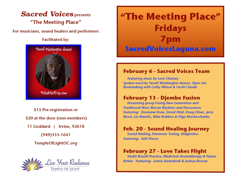 The Meeting Place FEBRUARY
