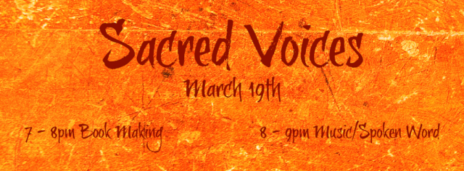 Sacred Voices MARCH