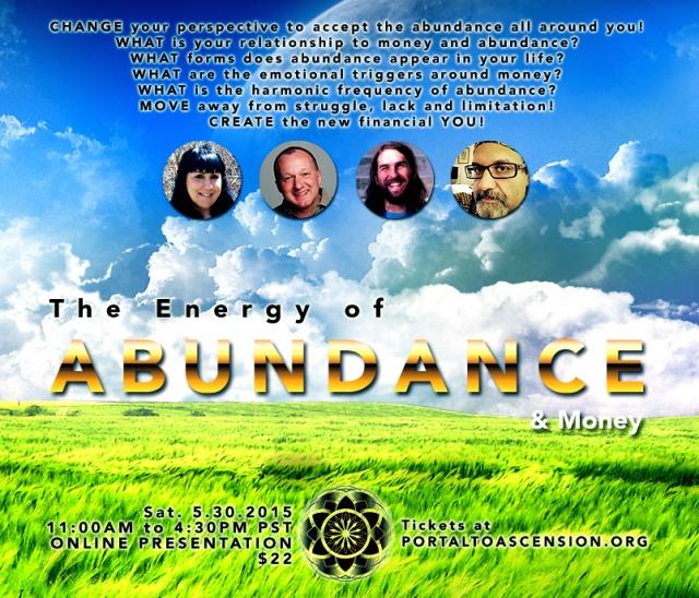 Energy of AbundanceFlyer