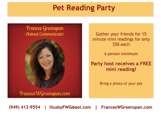 Pet Reading Party COLOR