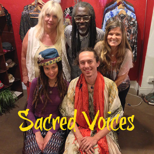 Sacred Voices labeled PHOTO