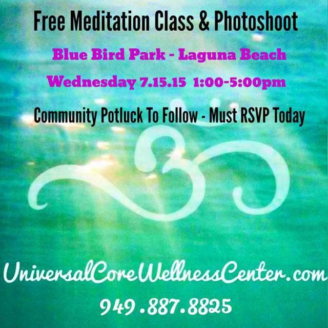 Free Meditation Class Melissa Wallace