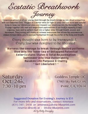 BREATHWORK JOURNEY Oct. 24