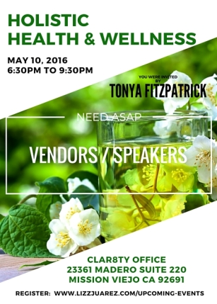 May 10 Event FLYER