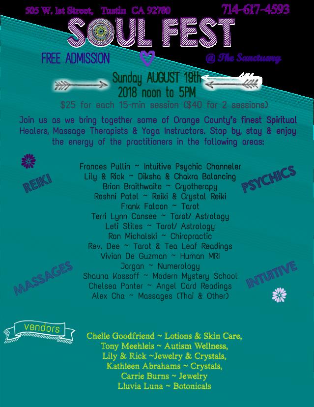 Soul Fest Aug 19 FLYER