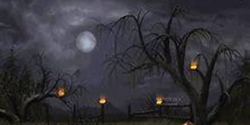 Spooky Trees graphic